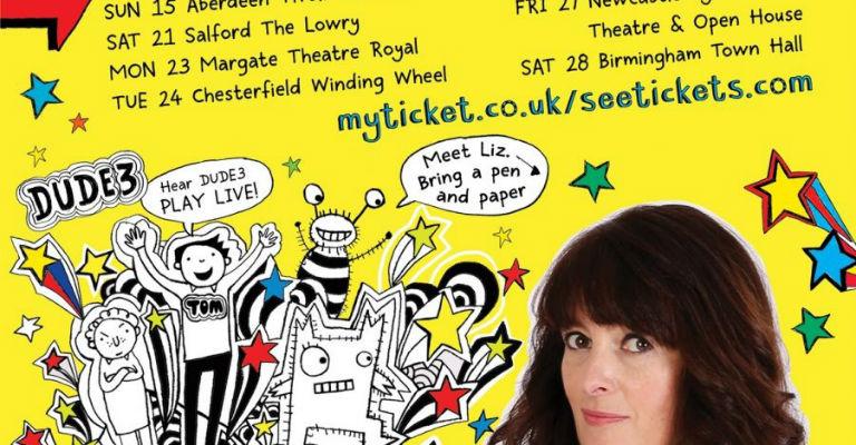 Liz Pichon & the Tom Gates Brilliant Bands & Doodle Live Show
